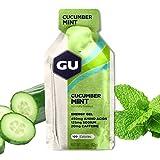 GU Energy Original Sports Nutrition Energy Gel, Cucumber Mint, 24-Count