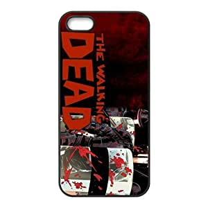 The Walking Dead Design Solid Rubber Customized Cover Case for iPhone 5 5s 5s-linda469