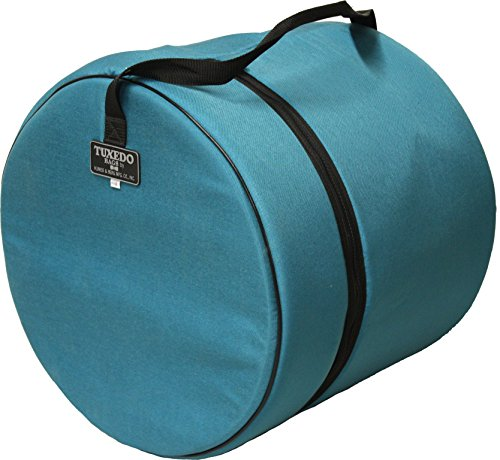 14 X 14-Inches Tuxedo Floor Drum Bag TEAL COLOR (Tuxedo Drum Cases)