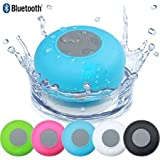 eCosmos || Water Proof Bluetooth Shower Speaker With Mic Wireless Stereo Shower Speakers Portable Waterproof Bluetooth Wireless Stereo Shower Speakers, - Best for Bath, Pool, Car, Beach, Indoor/Outdoor Use (Random Colors )