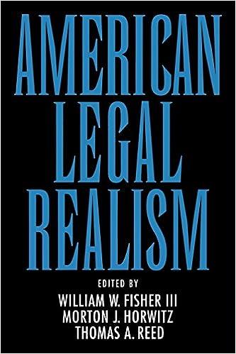 american realism jurisprudence