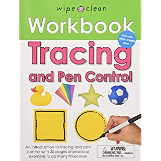 Wipe Clean Workbook Tracing and Pen Control (Wipe Clean Learning Books)