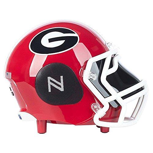 Nima Athletics NCAA Football Georgia Bulldogs Wireless Bluetooth Speaker. Officially Licensed Portable Helmet Speaker by NCAA College Football - (Bulldogs Tailgate)