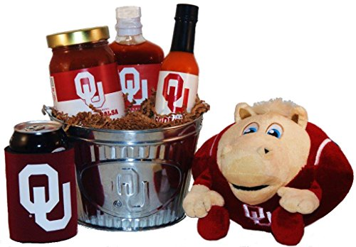 University of Oklahoma Tailgate Grilling Gift Basket - Large