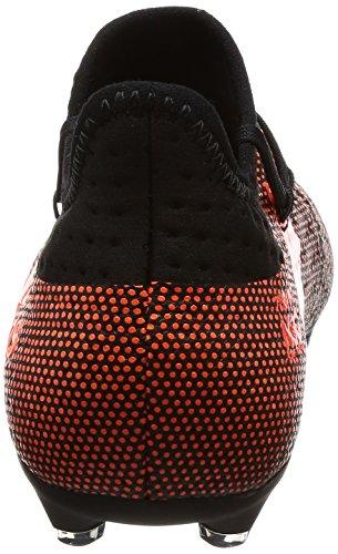 1 FG Unisex J X 17 adidas Solar de Niños Fútbol Botas Black Red Core Solar Orange Multicolor qUxtEnxH8
