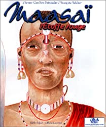 Maasai: l'étoffe rouge