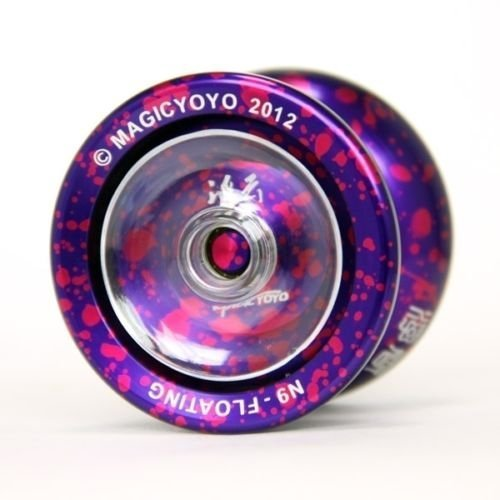 MAGIC YOYO N9 FLOUTING Aluminum Professional YoYo Ball Purple