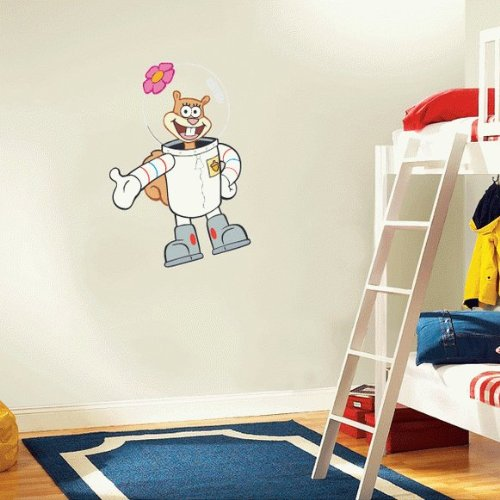 SpongeBob SquarePants Sandy Cheeks Cartoon Wall Decal Sticker 17