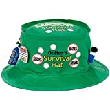 Amscan Officially Retired Retirement Party Green Golfer's Survival Hat Accessories, Fabric