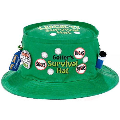 Amscan golfer survival hat -