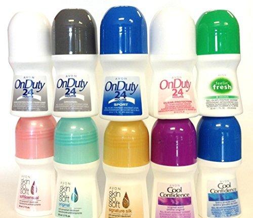AVON Assorted Unisex Deodorants (Set of 10) (Unisex Deodorant)