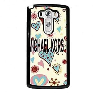 Trendy LG G3 Michael & kors Phone Case,Michael & kors Pattern Luxury Logo Back Cover For LG G3