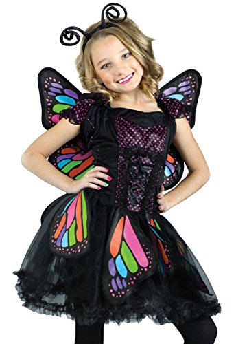 Rainbow Butterfly Kids Costume