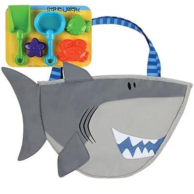 Stephen Joseph Beach Tote, Shark: Varios: Toys & Games