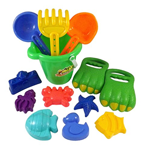 Dinosaur Claws Beach Bucket Shovels product image