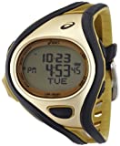 Asics Unisex Challenge CQAR0407 Gold Polyurethane Quartz Watch with Digital Dial