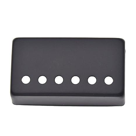 mfny 1 pc guitarra humbucker cuello guitarra Pickup cubre cobre partes de guitarra eléctrica Negro