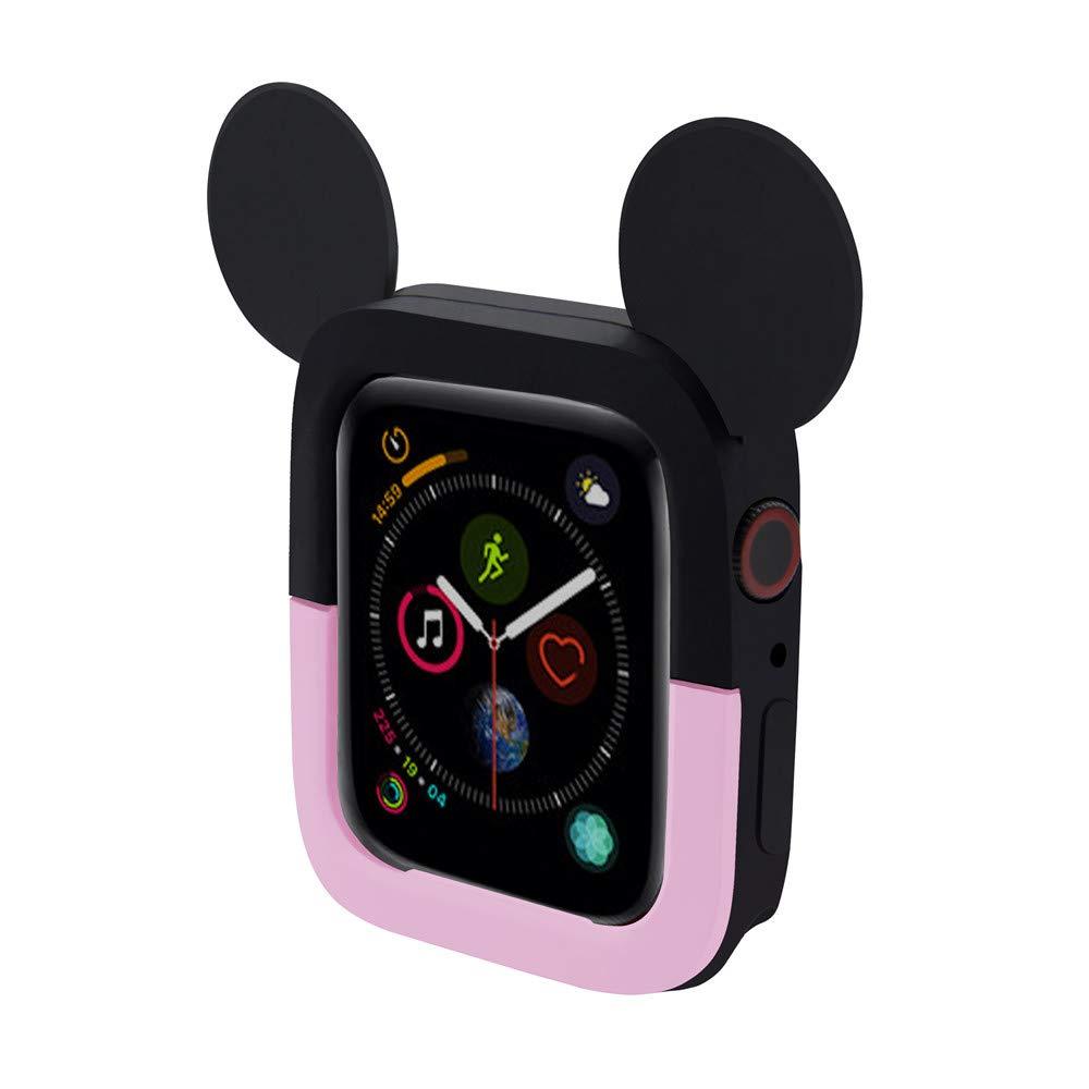 Amazon com: Bicolor Cute Cartoon Mickey Mouse Ears TPU