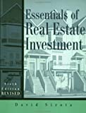 Essentials of Real Estate Investment, Sirota, David, 0793148855