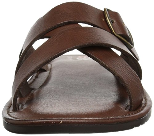 GBX Men's Siano Loafer, Multi-Color Dark Brown