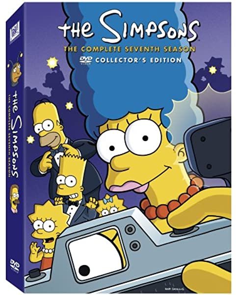 Amazon Com The Simpsons The Complete Seventh Season Harry Shearer Nancy Cartwright Movies Tv
