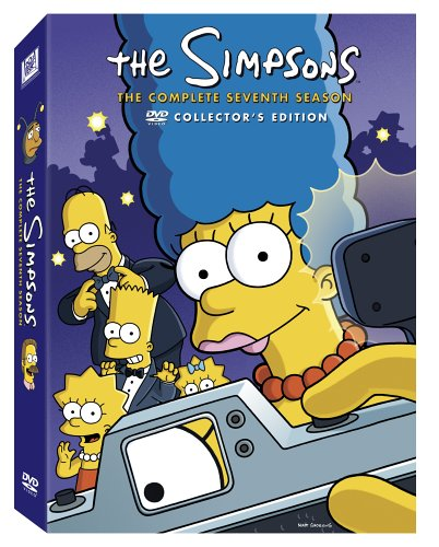 Image result for the simpsons season 7 poster