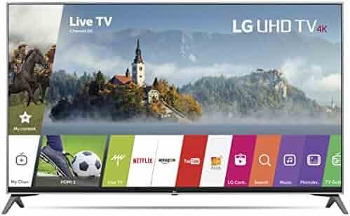 LG Electronics 55UJ7700 55-Inch 4K Ultra HD Smart LED TV (2017 Model)