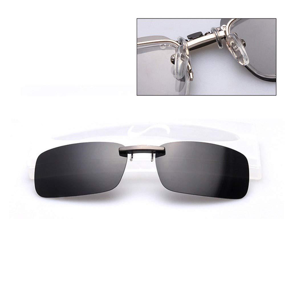 Polarized Aluminum Magnesium Clip On Sunglasses Driving For Myopia Glasses