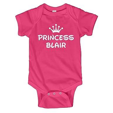 31f804c19a4 Amazon.com  Baby Girl Princess Blair  Infant Bodysuit  Clothing