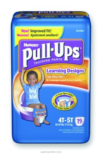 Huggies Pull-Ups - Training Pants, Huggies Pullup Trnpnt 4T-5T B, (1 CASE, 76 EACH) by Kimberly-Clark by Kimberly-Clark