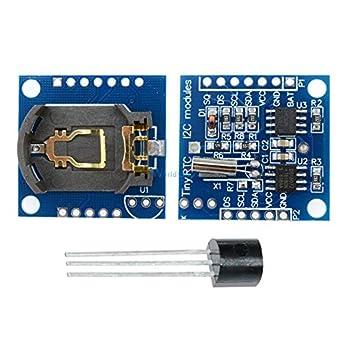 DS18B20 Temperature Sensor Module +I2C IIC RTC DS1307