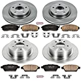 Autospecialty KOE242 1-Click OE Replacement Brake Kit