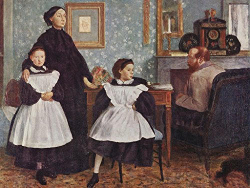 Lais Jigsaw Edgar Germain Hilaire Degas - Portrait of The Bellelli Family 2000 Pieces