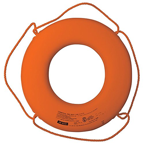 Cal June Buoy Ring 20In Org