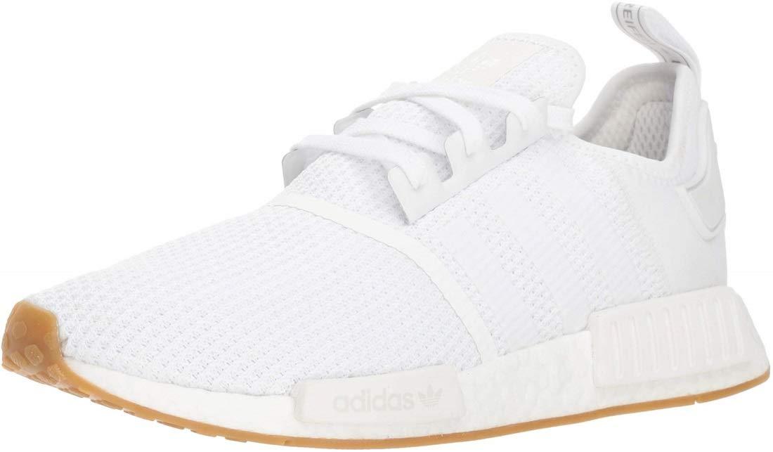 adidas Originals Men's NMD_r1 Shoe, White/Gum, 10.5 M US by adidas Originals