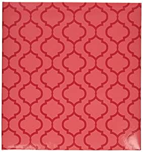 Project Life Album, 6 by 8-Inch, Pink Lattice