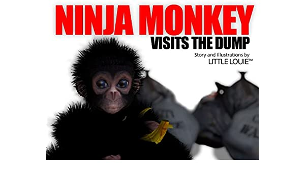 Ninja Monkey Visits the Dump (Ninja Monkey Adventures Book 1 ...