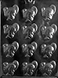 Cybrtrayd T003 Small Turkeys Life of the Party Chocolate Candy Mold with Exclusive Cybrtrayd Copyrighted Chocolate Molding Instructions
