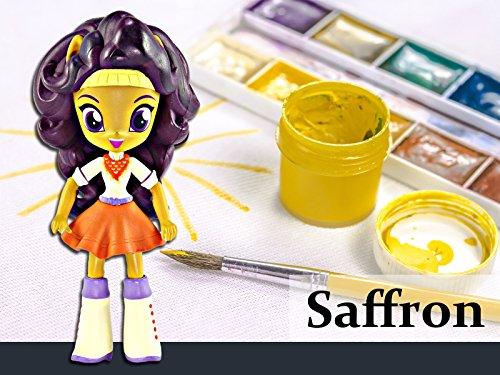 How to Make a Custom Saffron Masala Mini Doll