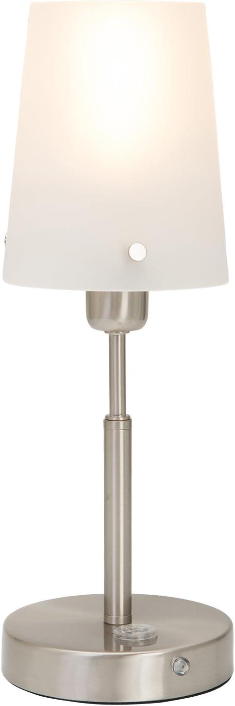 Livarno Lux Elegante Lampada Da Tavolo Con Funzioni Pratiche Amazon It Illuminazione
