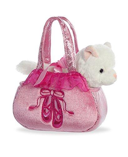 (Aurora World Fancy Pals Purse Pet Carrier, Ballet Kitten)