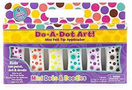 Do A Dot Art Marker Time sale Mini All items in the store Dots Colors Ma Bright Island Doodles