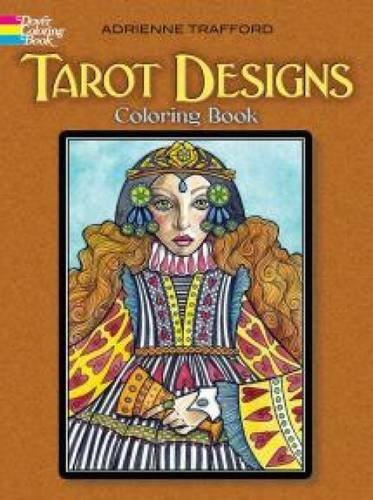 Tarot Designs Coloring Book Adrienne Trafford 9780486494609 Amazon Books