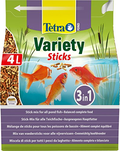 600g Tetra Pond Variety Sticks Fish Food