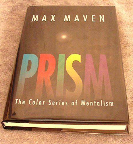 Prism The Color Series of Mentalism by Max Maven - Book