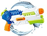 (US) Water Blaster 1200cc Super Water Gun Moisture Capacity Party Outdoor Activity 34ft Effective Distance Squirt Gun Soaker for Children Adults(Ship in USA)