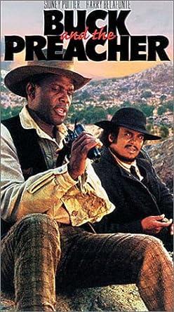 Amazon.com: Buck & The Preacher [VHS]: Poitier, Belafonte: Movies & TV