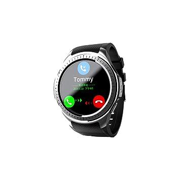 La moda Reloj inteligente Ritmo cardíaco y seguimiento de la ...