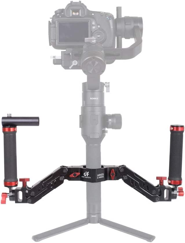 Adjustable Articulating Camera Clamp Action Camera Bike Mount Compatible with Monitor LED Action Camera Gopro 7 OSMO Action DSLR Canon Nikon Sony