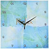 3dRose LLC dpp_79350_1 Wall Clock, 10 by 10-Inch, Relax Starfish Aqua and Blue Beach Theme with Ocean Colors For Sale